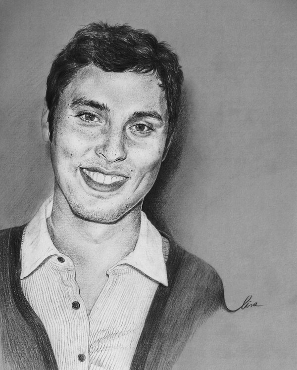 John Francis Daley Portrait