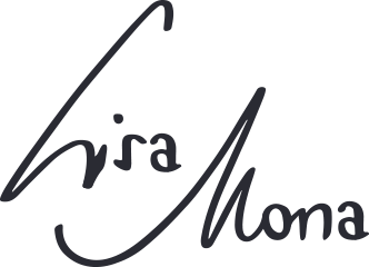 Lisa Mona logo (for retina display)